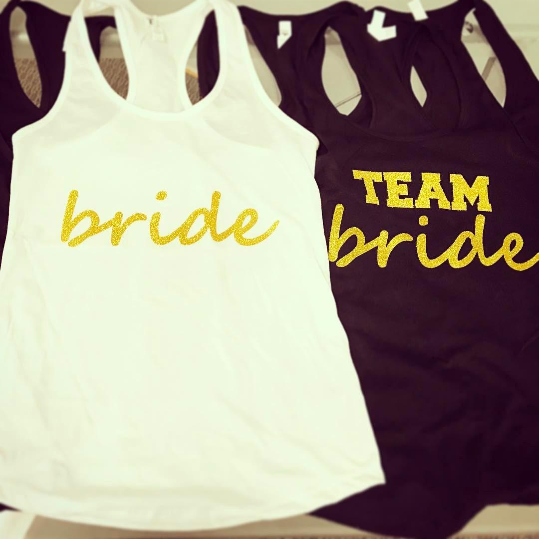 team bride bachelorette party shirts boise